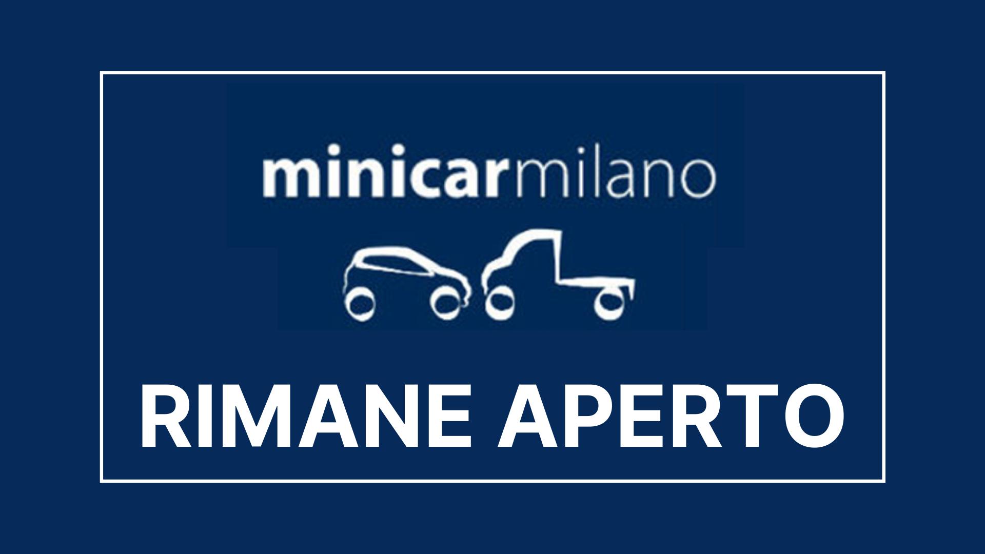Minicarmilano rimane aperto in base al dpcm del 4 Novembre 2020