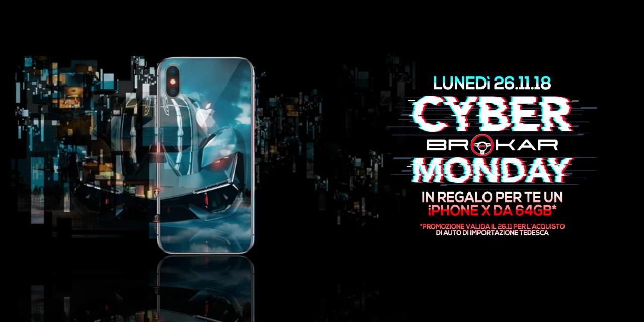Cyber Monday Brokar Milano