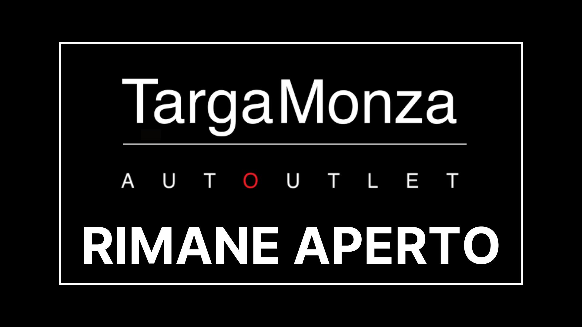 Targa Monza rimane aperto