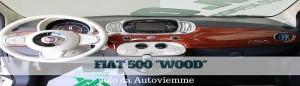 fiat 500 wood