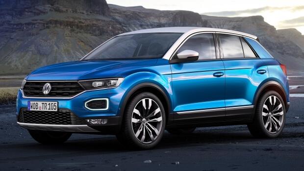 Volkswagen T-Roc: presentata la nuova crossover compatta - Eurocar ...